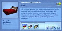 Sleigh Bells Double Bed