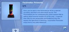 Facemelter Fireworks