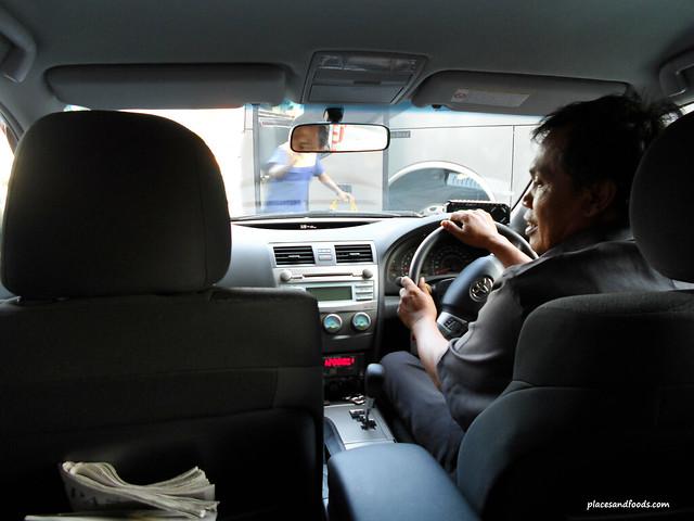 silver bird taxis jakarta driver