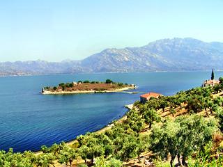 Lake Bafa in Turkey