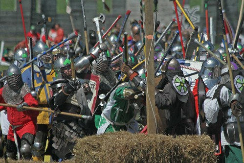Rich charging in Pennsic melee