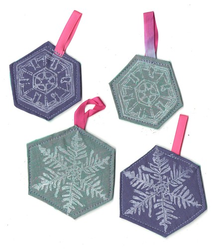 Snow Ornaments