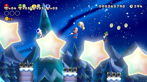 New Super Mario Bros. U Items Guide - Power-Ups, Coins and Rings