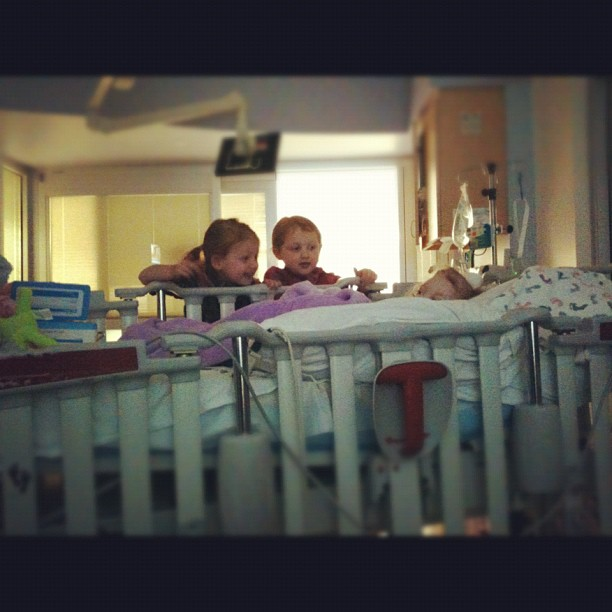 #sisterlylove #sawyergrace #aidkaid #reesey #gingerfight #prayersforreesey before port surgery #chemointumorout