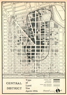 Oakland Central District: Type of Land Use, April, 1956