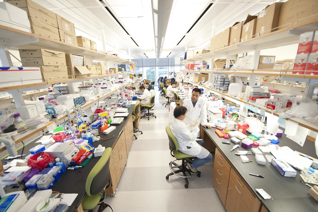 HSC- Students in the Lab | Photo by: Chris Shinn  | Flickr