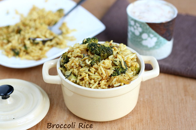 Broccoli Rice 1