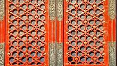 art, orange, symmetry, red,
