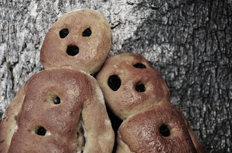 Hasta que el hongo pudra el pan.