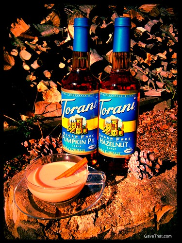 Torani Sugar Free Syrups and Pumpkin Pie Chai