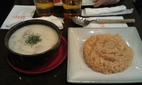 Cream soup.  by Kanda Mori