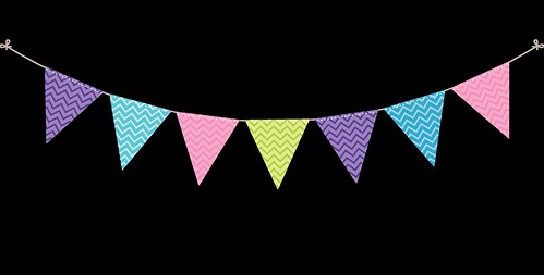 Bunting---Dots-and-Stripes---Rainbow---9
