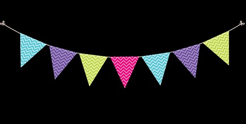 Bunting---Dots-and-Stripes---Rainbow---15