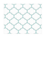 A2 card size JPG light turquoise Moroccan tile distressed paper LARGE SCALE