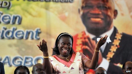 Simone Gbagbo, the former first lady of Ivory Coast, has been indicted by the International Criminal Court (ICC). The government of Ivory Coast was overthrown at the aegis of imperialism in 2011. by Pan-African News Wire File Photos