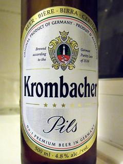 Krombacher, Krombacher Pils, Gemany