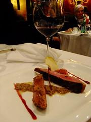 Anara in salsa peverada e Amarone 2007 Corte Rugolin
