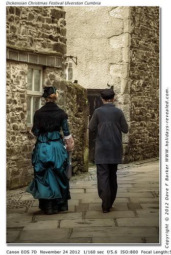 Dickensian Christmas Festival Ulverston Cumbria
