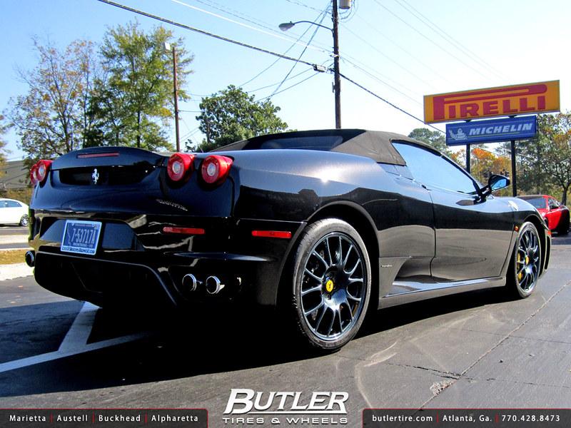 Ferrari F430 with 19in Carbon Fiber OE Wheels