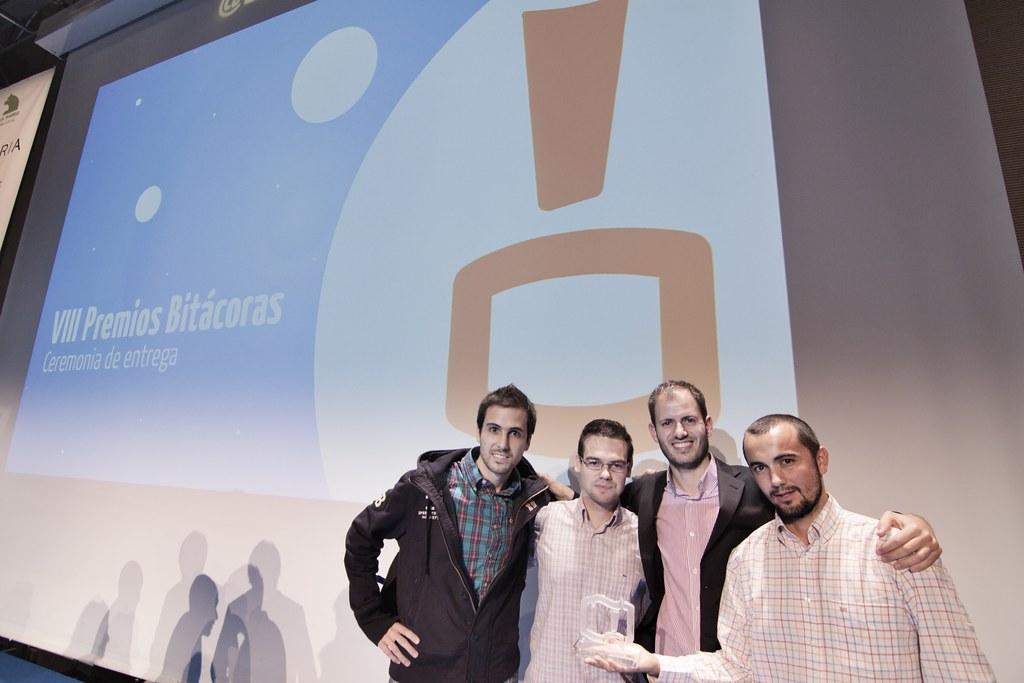 interQué 2012 VIII Premios Bitácoras