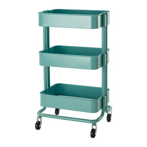 IKEARaskogKitchenCartTurquoise
