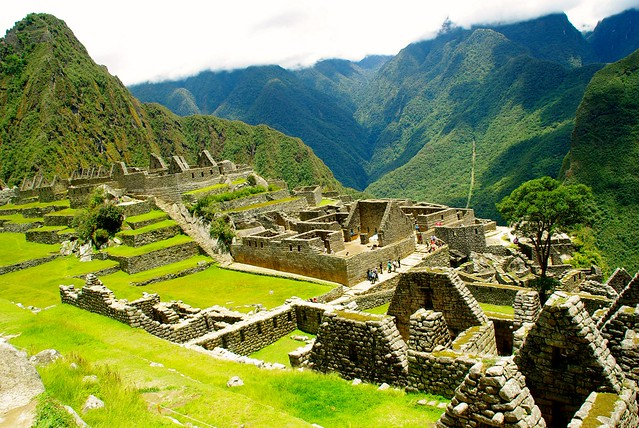 view of machu picchu in peru