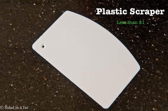 plastic scraper