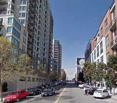 South Beach, San Francisco (via Google Maps & Placeshakers)
