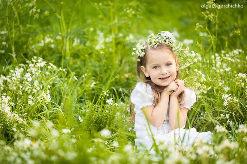 Маша весной