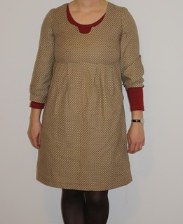Washi dress for Winter