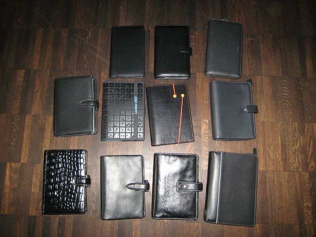 Filofax Colours (1): Black