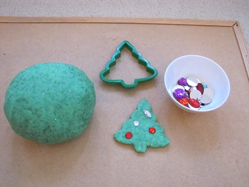 Peppermint Play Dough (Photo from H is for Homeschooling)