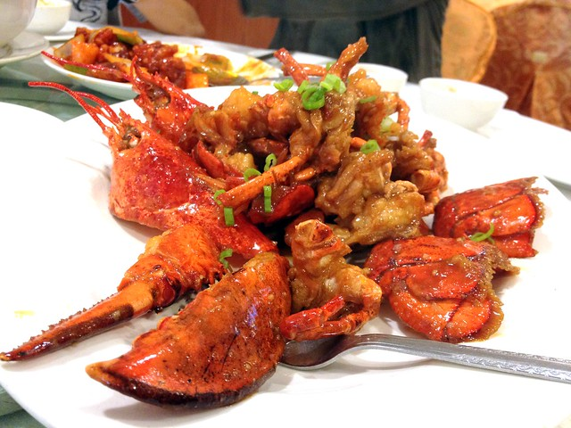 Stir-Fried Lobster with Superior Soy Sauce