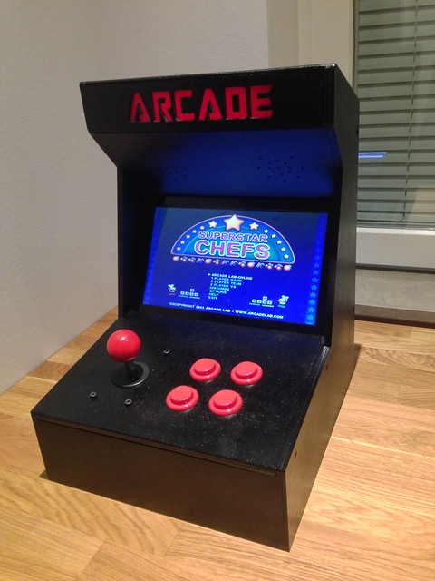 Arduino Blog 187 The Arcade Machine By Timothy 15