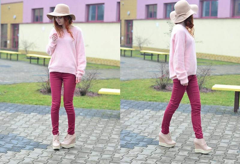 pink pudding