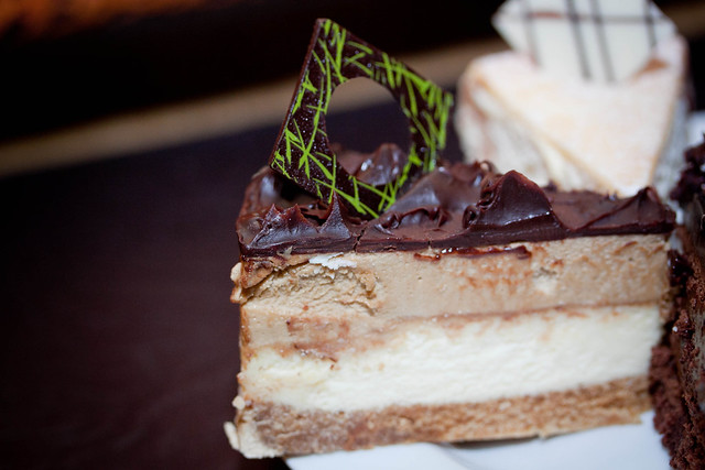 Gloria's Mocha Cheese Cake
