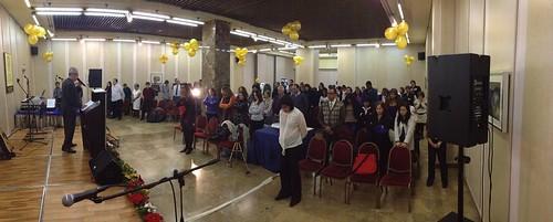 panorámica 2- VIII Aniversario Iglesia CENFOL España