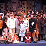 "2012 Miracle on 34th Street cast photo - PHOTOGRAPHER CREDIT - PLEASE INCLUDE IN ALL REPRINTS.   Based on the delightful movie classic that starred Edmund Gwenn as Kris Kringle and a young Natalie Wood, this musical version includes memorable songs such as ""Jolly Old St. Nicholas,"" ""The Holly and the Ivy"" and more. As we get caught up…"