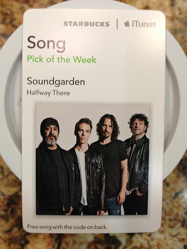 Starbucks iTunes Pick of the Week - Soundgarden - Halfway There