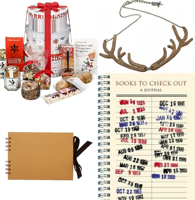 christmas gift guide 2012, gifts for women, scrapbook, john lewis christmas hamper,