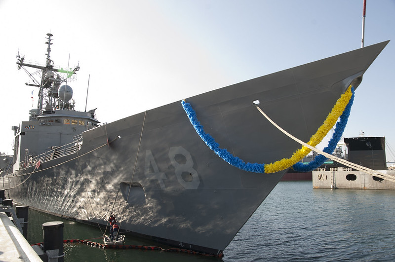 SAN DIEGO - The Perry-class guided-missile frigate, USS Vandegrift (FFG 48), returned to homeport San Diego, Calif., after completing a six-month, independent deployment.