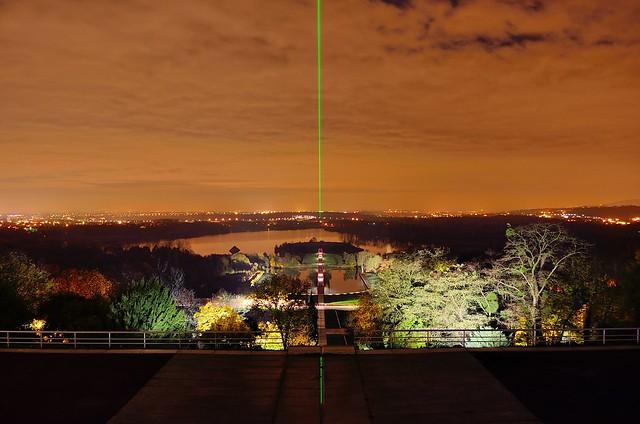 Le laser de l'Axe Majeur de Cergy