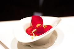plum dessert @ jungsik