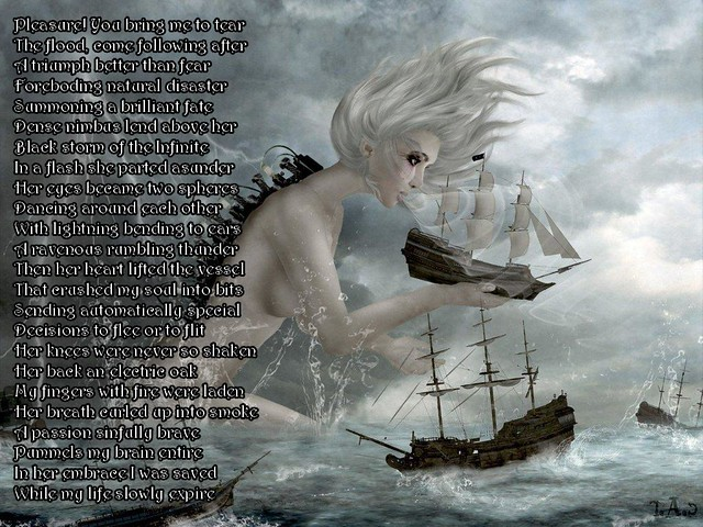 Embrace of the Storm Goddess