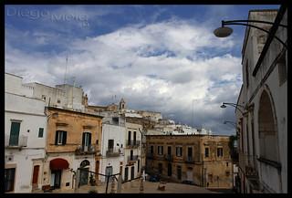 Ostuni, la città bianca. Puglia