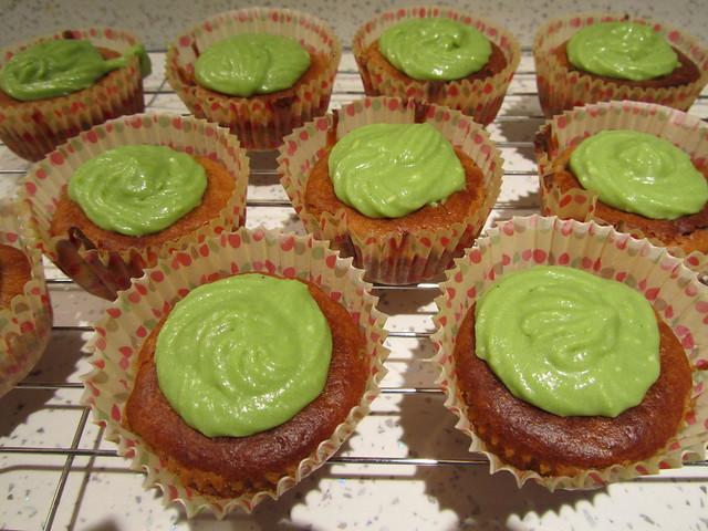 Cooking: Azuki, Kinako & Matcha Cupcakes
