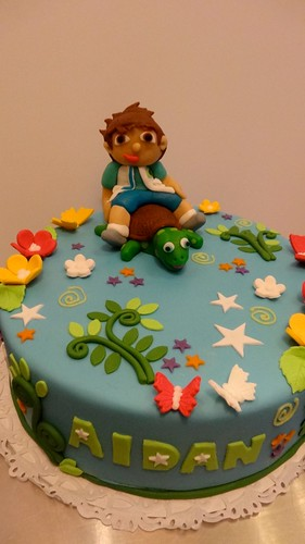 Diego - Dora the Explorer Cake by CAKE Amsterdam - Cakes by ZOBOT