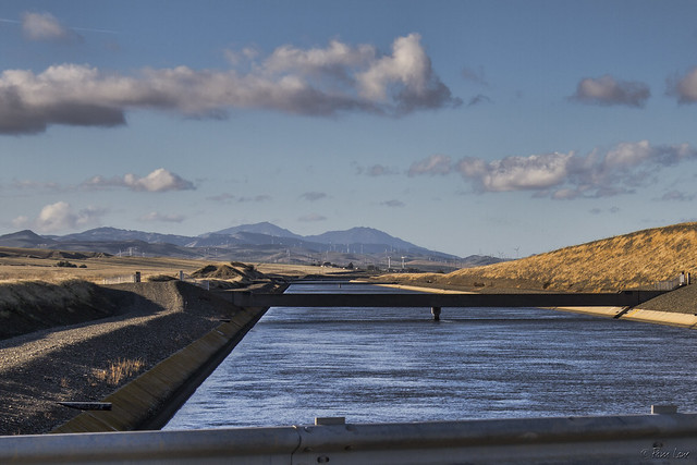 California aqueduct close