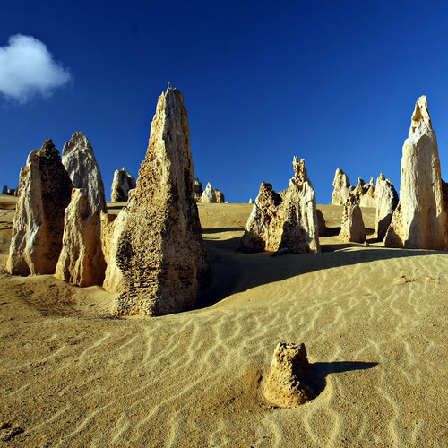 The Pinnacles, Nambung National Park in Western Australia