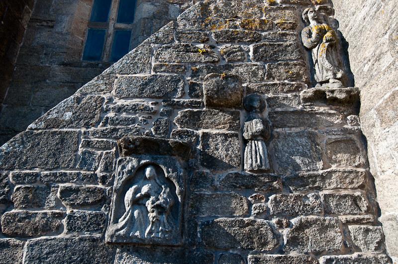 La iglesia de Santa María de la Atalaya en Laxe